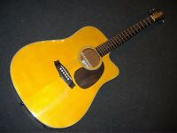 TANGLEWOOD NASHVILLE TN5DCE SOLID TOP ELECTRO/ACOUSTIC GUITAR+FREE PNP+HARD CASE
