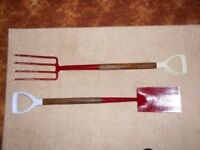 garden tool batch/spade (shovel) /fork/shears