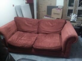 Fabric sofabed in very good condition