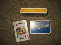 monarch airlines playing cards