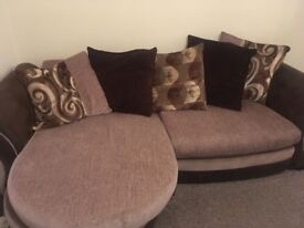 7 year old sofa suite, good quality