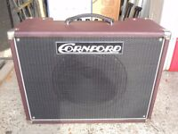 Cornford Hurricane Combo - Superb condition, as new with cover, footswitch.