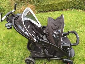 Graco Quattro Tour Duo - Sport Luxe (Twins Travel System)