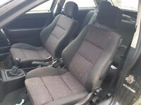 Low mileage (50k) full interior - Vauxhall Astra G Mk4 SRi not GSi half leather