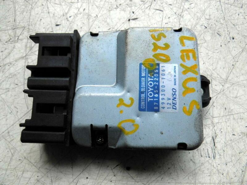 2000 Lexus IS200 2.0 Petrol Heater Blower Motor Control Unit 499300-1061