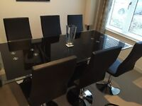 Sterling Dining table and chairs