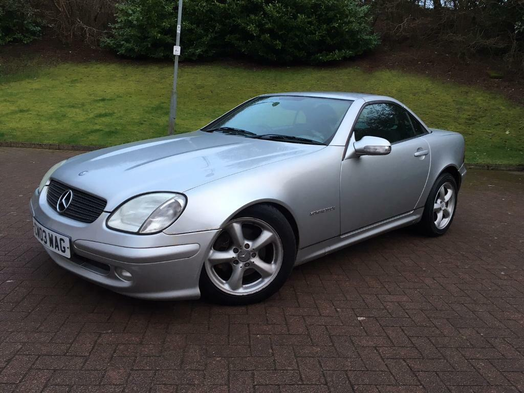 2003 mercedes slk 200 kompressor convertible in kirkintilloch glasgow gumtree. Black Bedroom Furniture Sets. Home Design Ideas