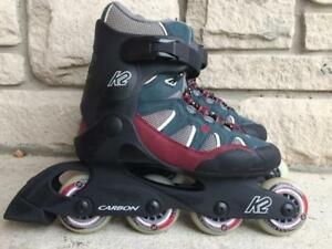 LIke NEW K2-W Ascent Inline Skates (Rollerblades) 72mm/78A Womens Size 6