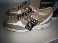 GEOX BOYS RESPIRA BOYS TRAINERS SIZE UK 5 AND 6