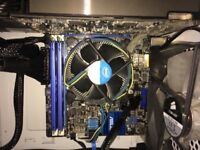 Motherboard + I5 3470 + 8GB RAM DDR3 excellent condition