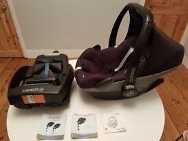 Maxi COSI Pebble Car Seat and Maxi COSI Easybase 2