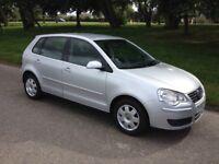 2006 56 VW POLO 1.4 S 80 5 DOOR MANUAL SILVER