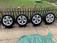"17"" Genuine Mini Cooper F60 Alloy Wheels with tyres 225/55/r17 5x112, spoke 531"
