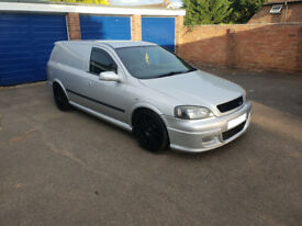 astra van sportive modified