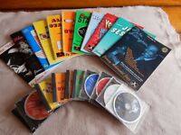 A selection of Play - a - Long jazz music CD and music books by Jamey Aebersold