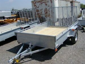 2017 Advantage 6x12 Galvanized Landscape Trailer