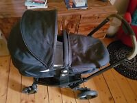Mothercare Xpedior Pram & Pushchair, only used a few month. Compatible car seat for extra £30