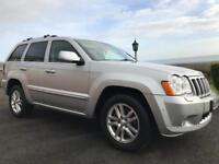 2009 Jeep Grand Cherokee 3.0 Crd Overland / part exchange / Black Leather / finance available