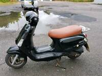 fully running moped with 11 months mot