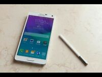 Samsung note 4 unlocked / cash or swaps