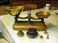 Genuine Original Scales By Carnegie & Ayton with Weights