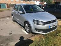 2010 59reg Volkswagen Polo 1.6 Tdi SE Silver 5 Door New Shape