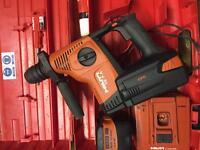 Hilti-Te 7-A -36v drill & Cango
