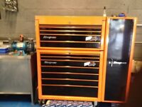 "Snap on 40"" toolbox (18 mths old)"