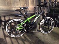 Giant XTC Jnr 20 Mountain Bike. Front suspension, 7 speed.