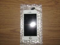 White iPhone 5 replacement screen and digitizer