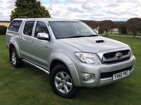 2010 TOYOTA HILUX INVINCIBLE***NO VAT**SAVE ££££***WARRANTY***PX-WELCOME***FINANCE ARRANGED