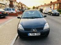 RENAULT CLIO 2006 NEW MOT 1.2 ENGINE ONLY ONE OWNER