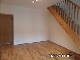 Two bed and 2 reception room house to rent in Trecynon, Aberdare. No bond taken. Guarantor essential