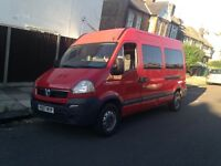 Vauxhall movano 2.5 cdti 57 reg long mot very good condition