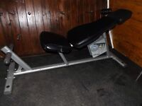 Full commercial abdominal bench LIFE FITNESS