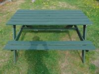 Outdoor Garden Table Pub Picnic Bench