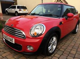 Mini Hatch One D For Sale. Red with Pepper Pack