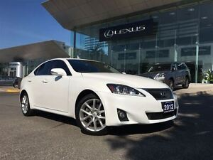 2012 Lexus IS 250 2owners Lthr AWD Btooth Sroof
