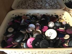 Fashion buttons.