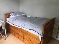 Pine Single Cabin Bed