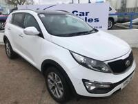 KIA SPORTAGE 1.6 2 ISG 5d 133 BHP A GREAT EXAMPLE INSIDE AND OUT (white) 2015