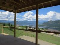 Spectacular views from this home overlooking Shuswap Lake
