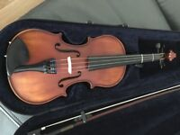 Beautiful 1/2 size violin