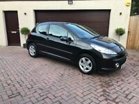 2007 Peugeot 207 1.4 Sport, Only 77k Miles! 1Yr MOT, New T.Belt, Serviced, Immaculate