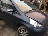 2008 1.4 Honda Jazz breaking all parts for sale gearbox £200 doors/tailgate/engine also for sale
