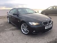 BMW 320i Coupe 2.0 170 BHP 2008 M Sport, Full BMW Service History, HPI Clear