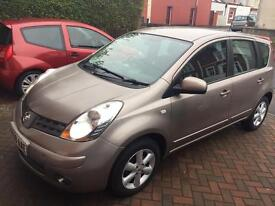 Nissan note automatic new mot low milage 17k