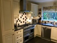 Entire Kitchen for sale, excellent quality and condition. Cupboards and worktop.
