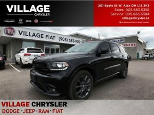 2017 Dodge Durango R/T|Safety Tec|Sunroof|Leather|Nav|Remote