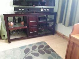 Tv unit & two draw table unit